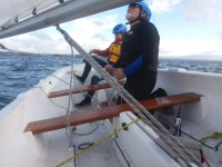 Sailing Trim Uncluttered Hull