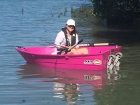 210 pink boat